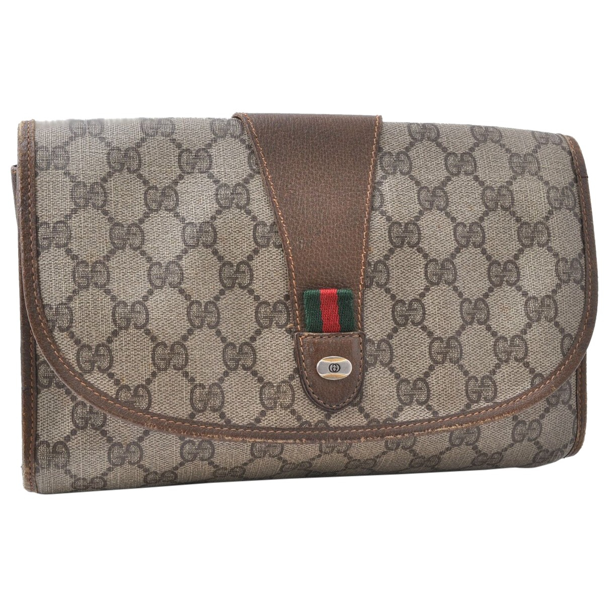 Gucci N Brown Clutch bag for Women N
