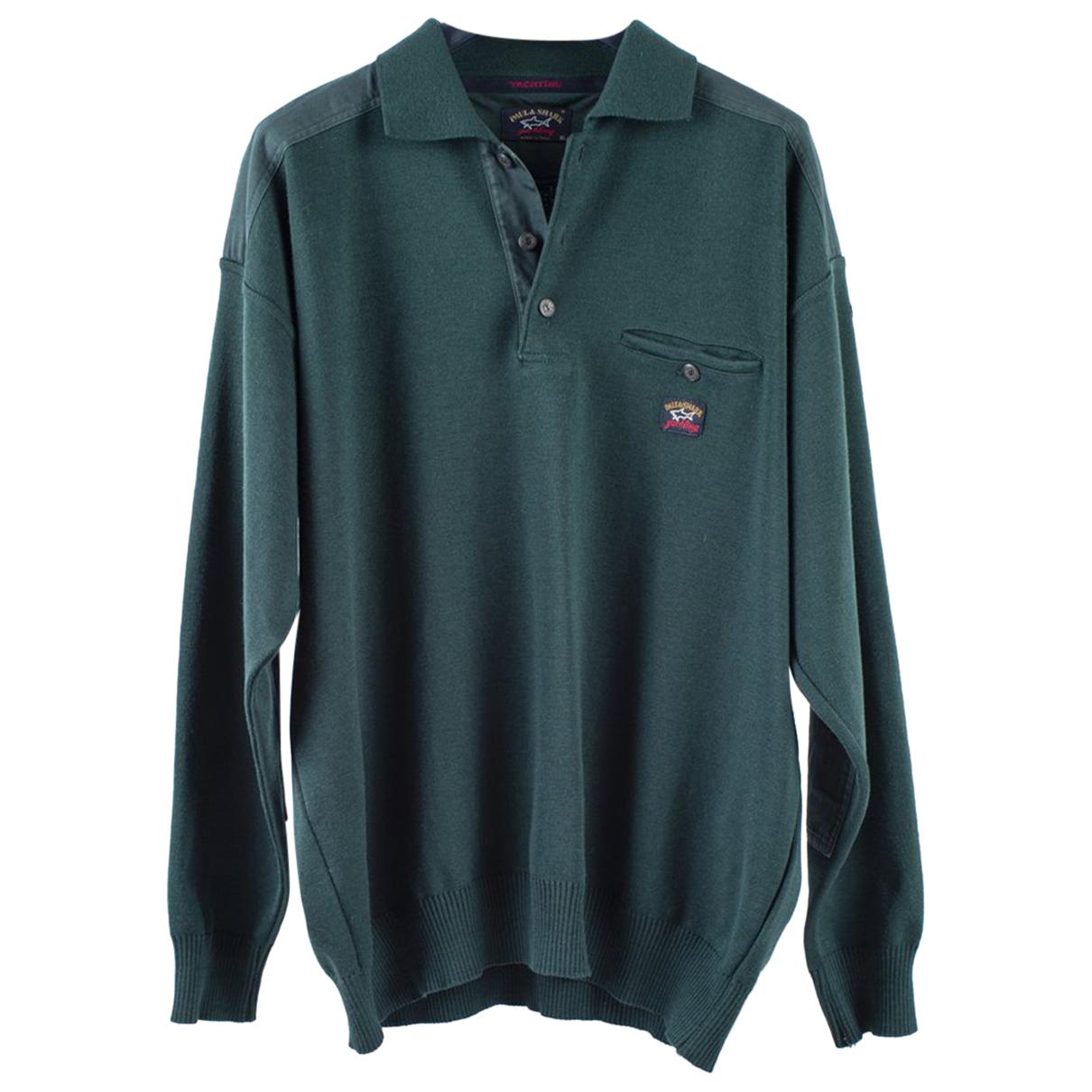 Autre Marque \N Pullover.Westen.Sweatshirts  in  Gruen Wolle