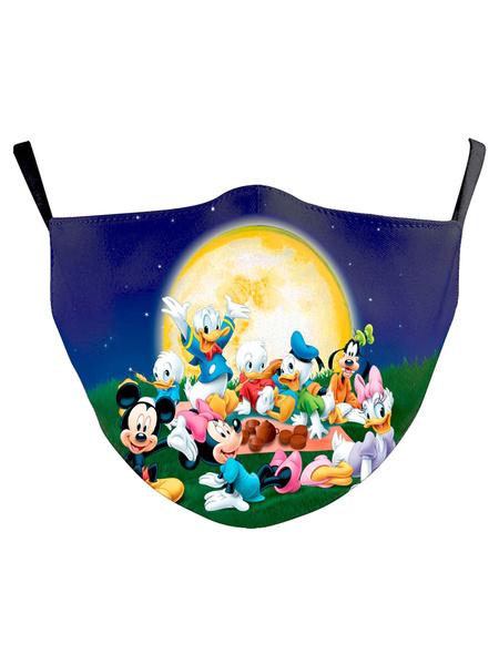 Milanoo Disney Mask Mickey Mouse Cartoon Face Covering