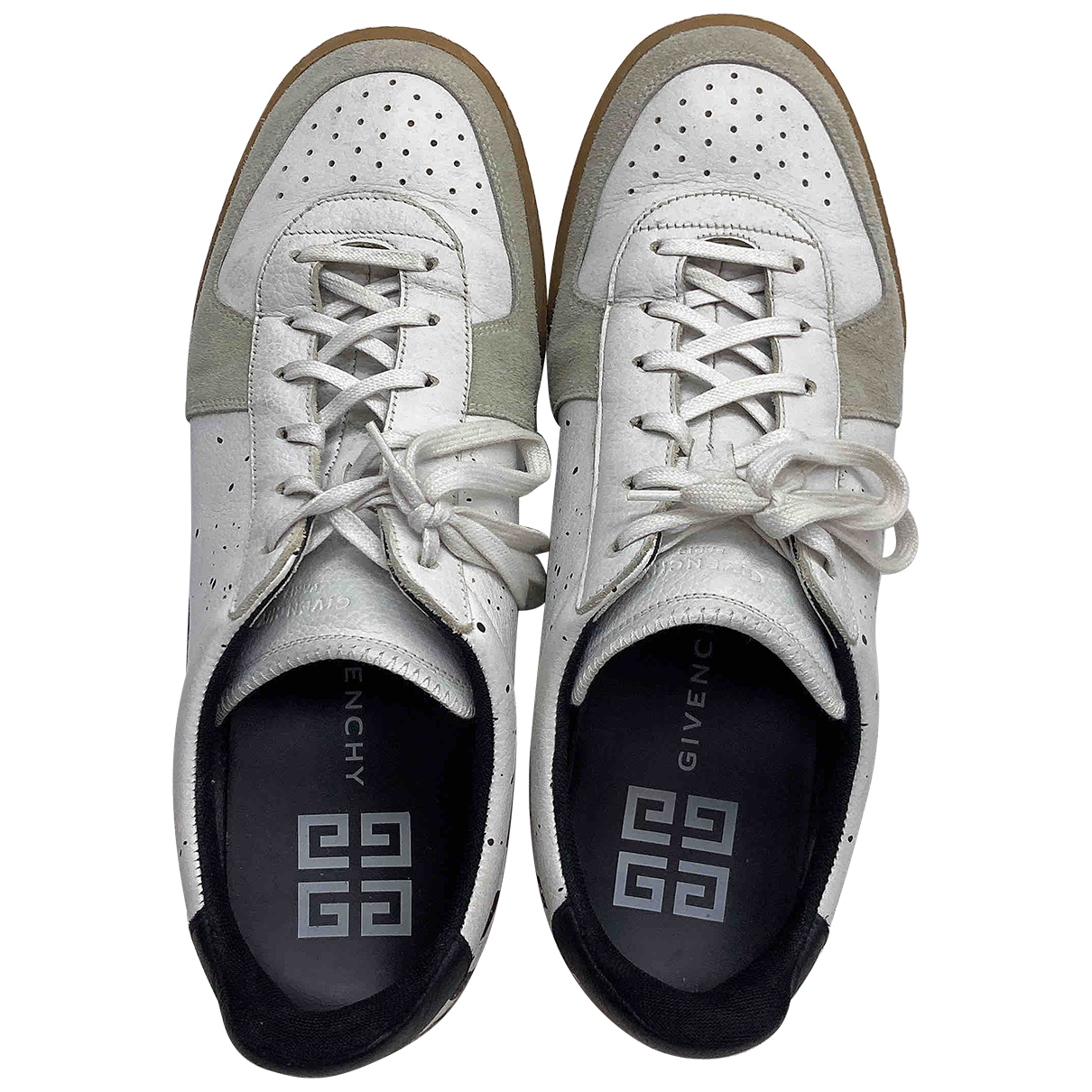 Givenchy N White Leather Trainers for Men 41 EU