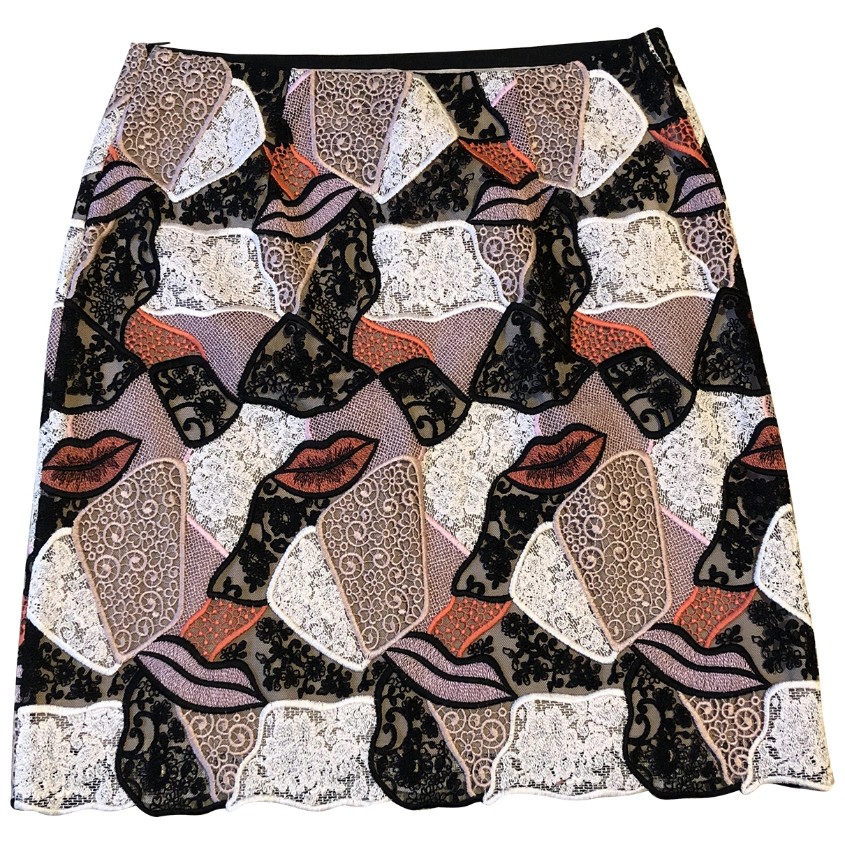 Emilio Pucci \N Multicolour Cotton skirt for Women 10 UK