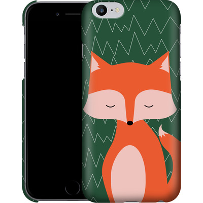 Apple iPhone 6 Plus Smartphone Huelle - Fox on Green von caseable Designs