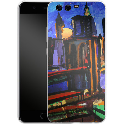 Huawei P10 Silikon Handyhuelle - Alive At Night von Tom Christopher