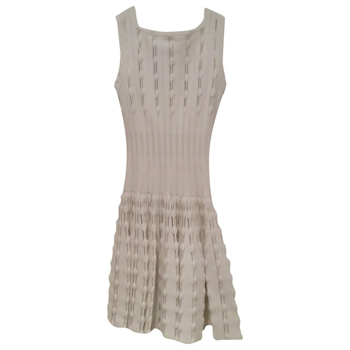 Alaïa \N White dress for Women 36 FR