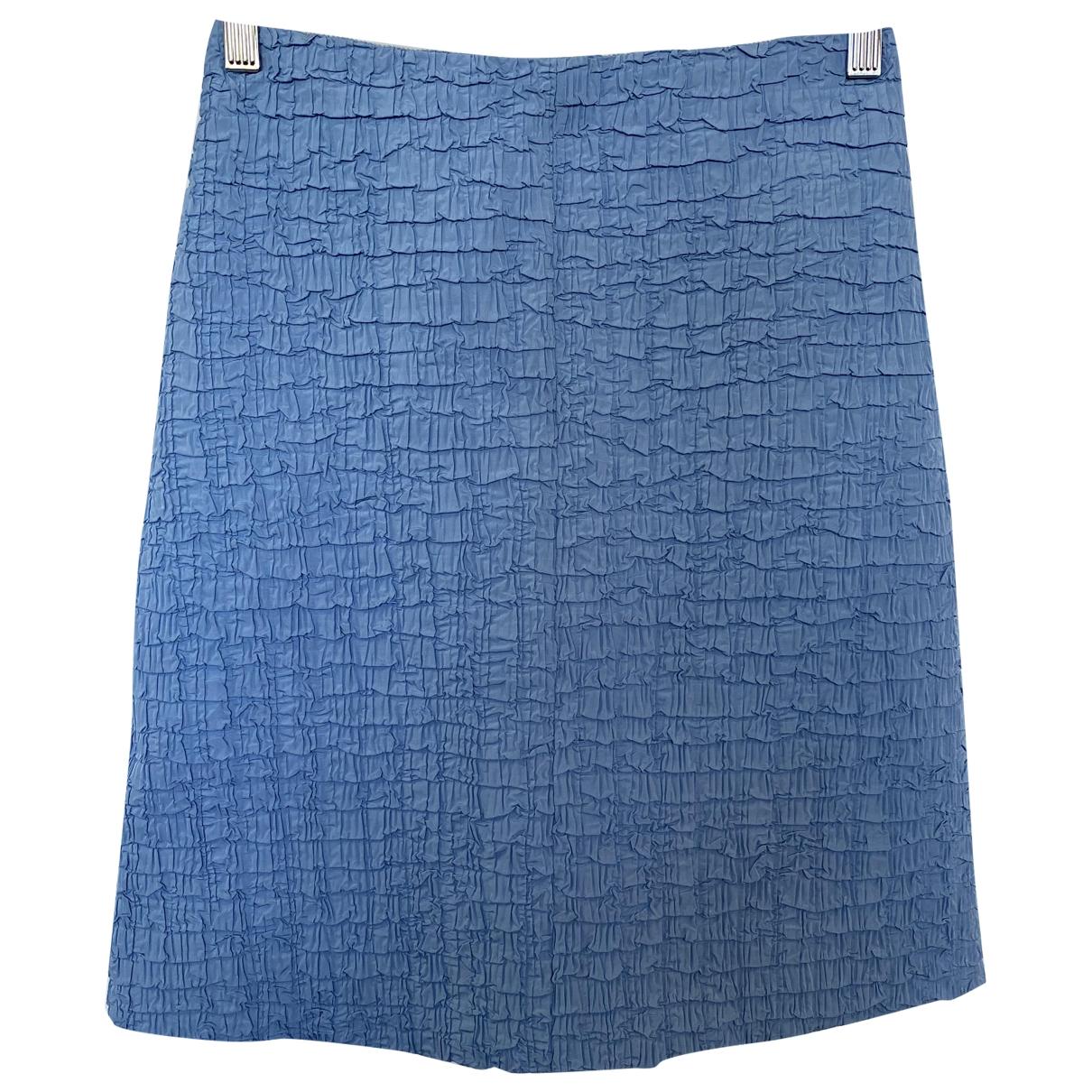 Carven \N Rocke in  Blau Polyester