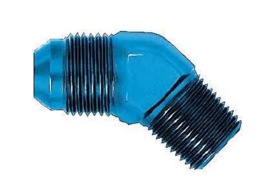Aeroquip FCM2022 Universal 45 Alum #6flare/1/4in Pipe