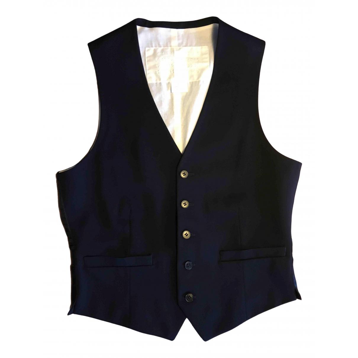 Maison Martin Margiela Pour H&m \N Blue Wool jacket  for Men 46 IT