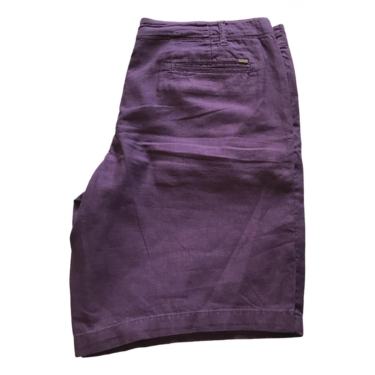 Pantalon corto de Lino Armani Jeans