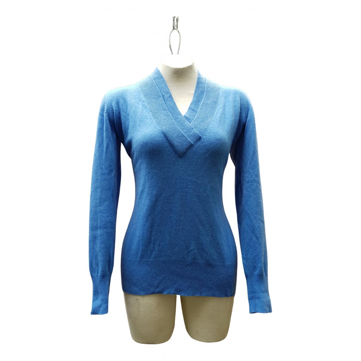 Lorena Antoniazzi \N Blue Cashmere Knitwear for Women 46 IT