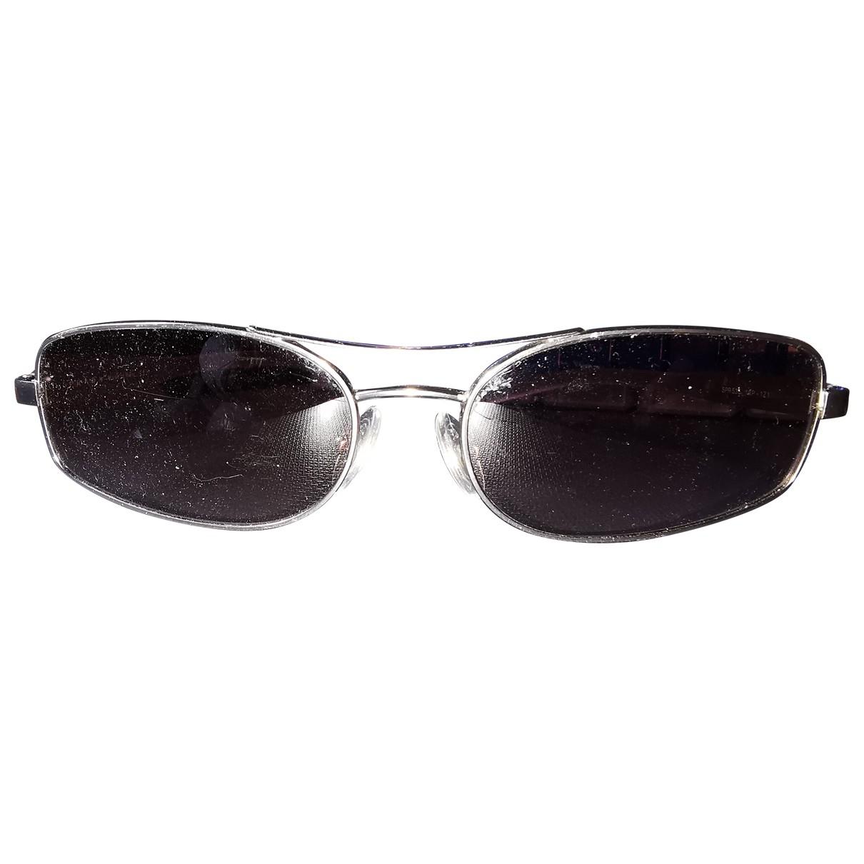 Prada \N Brown Metal Sunglasses for Women \N