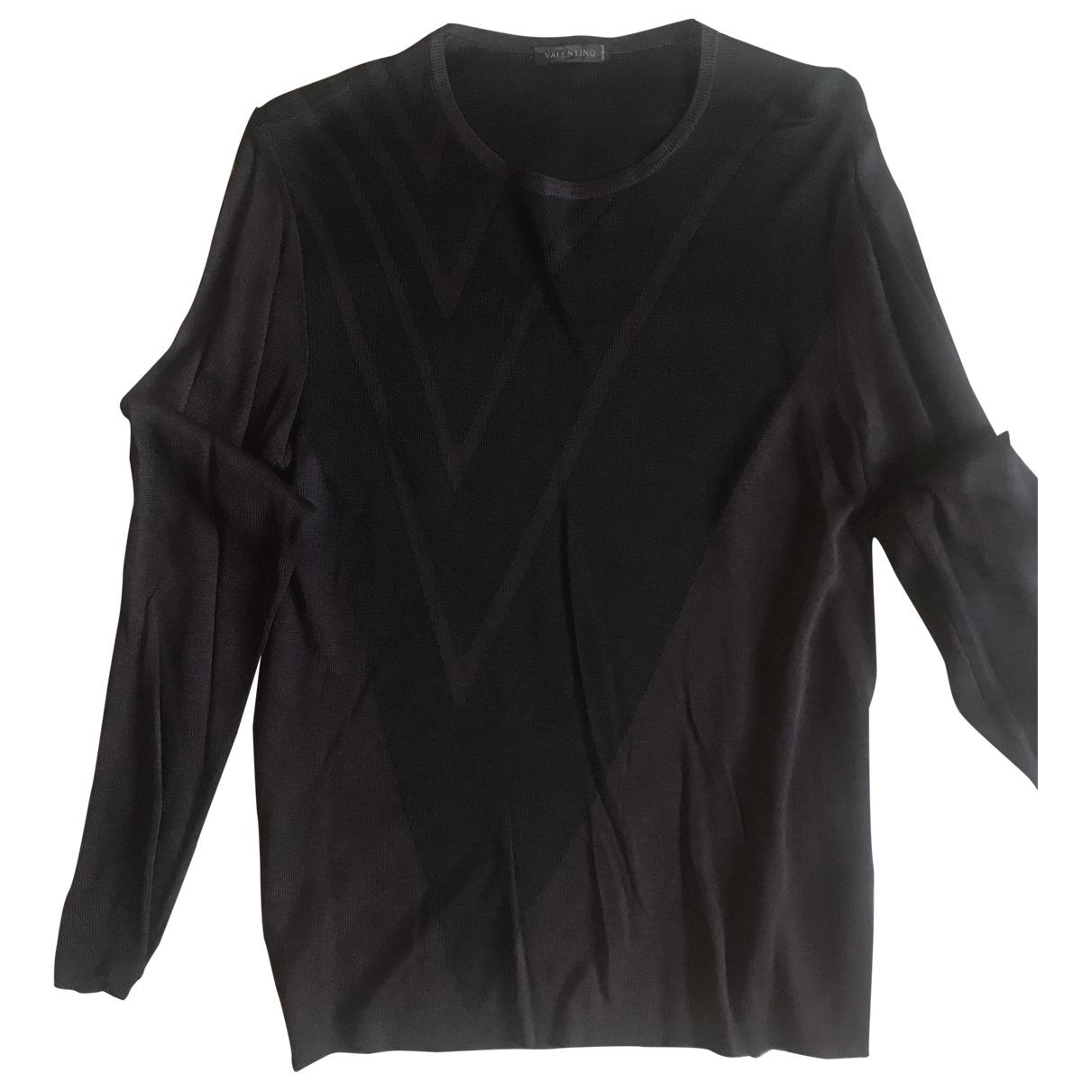 Valentino Garavani \N Pullover.Westen.Sweatshirts  in  Braun Viskose