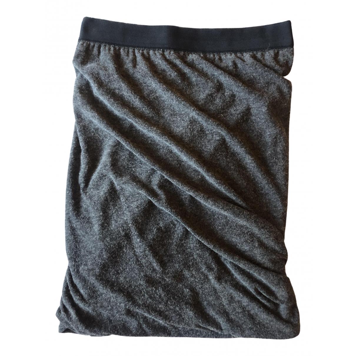 T By Alexander Wang N Anthracite skirt for Women M International