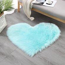 Heart Plush Shaggy Carpet