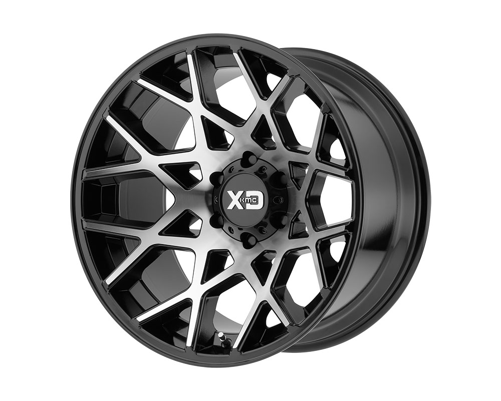 XD Series XD83121080524N XD831 Chopstix Wheel 20x10 8x8x165.1 -24mm Gloss Black Machined