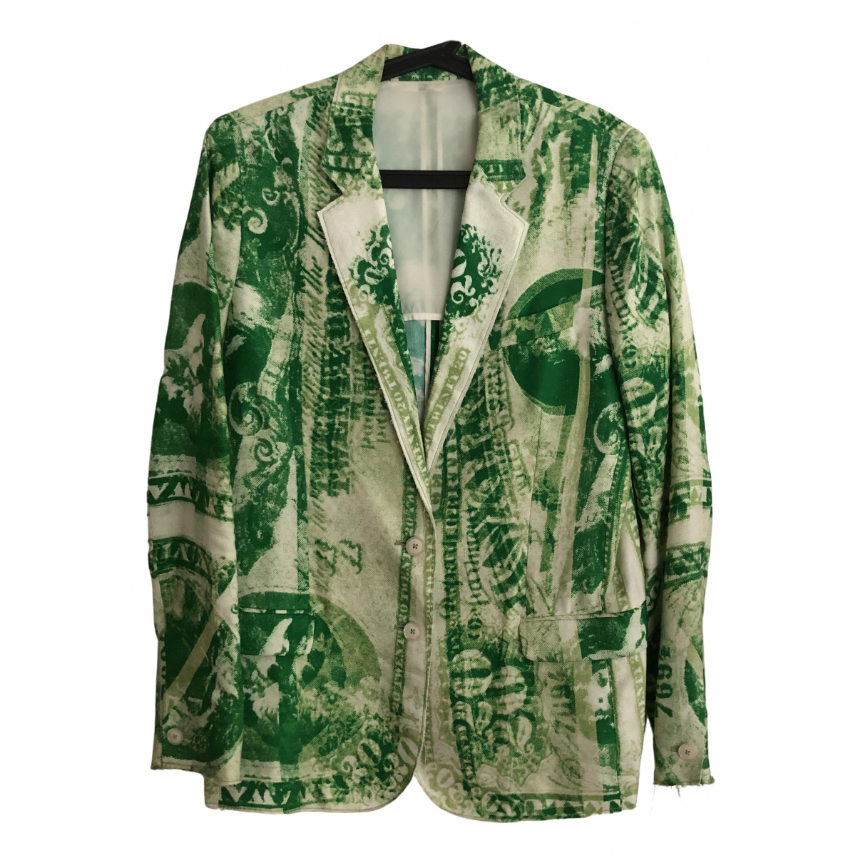 Acne Studios \N Green Cotton jacket for Women M International