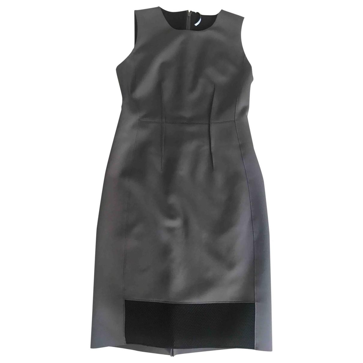 Elie Tahari \N Kleid in  Khaki Polyester