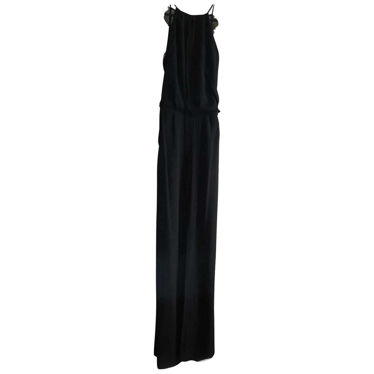 Samsoe & Samsoe \N Kleid in  Schwarz Viskose