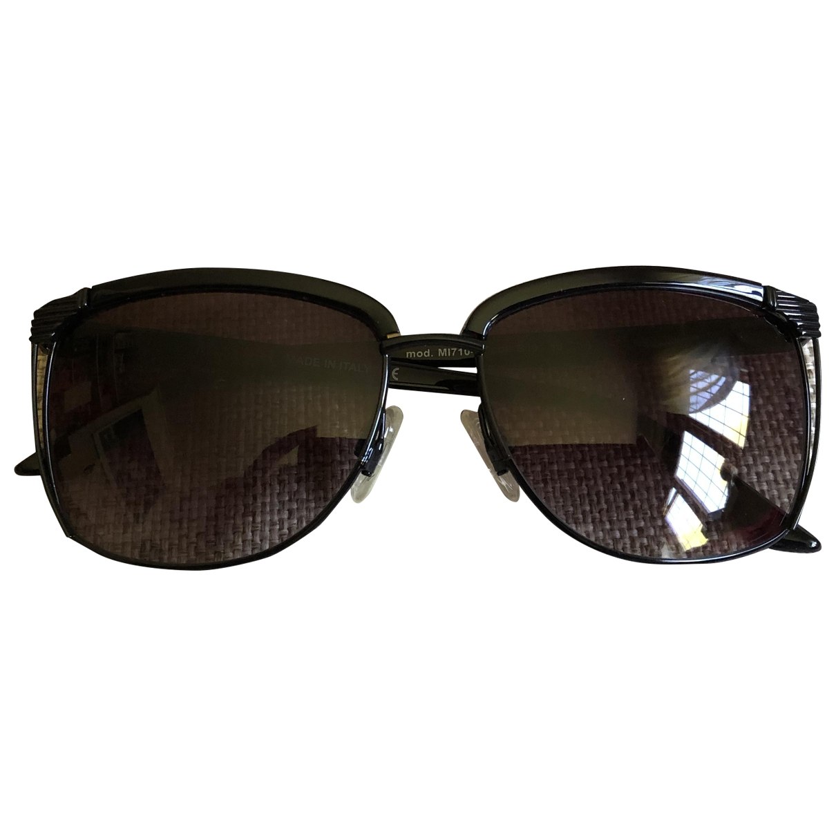 M Missoni \N Black Metal Sunglasses for Women \N
