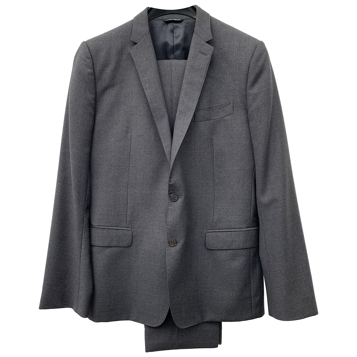 Dolce & Gabbana - Costumes   pour homme en laine - anthracite
