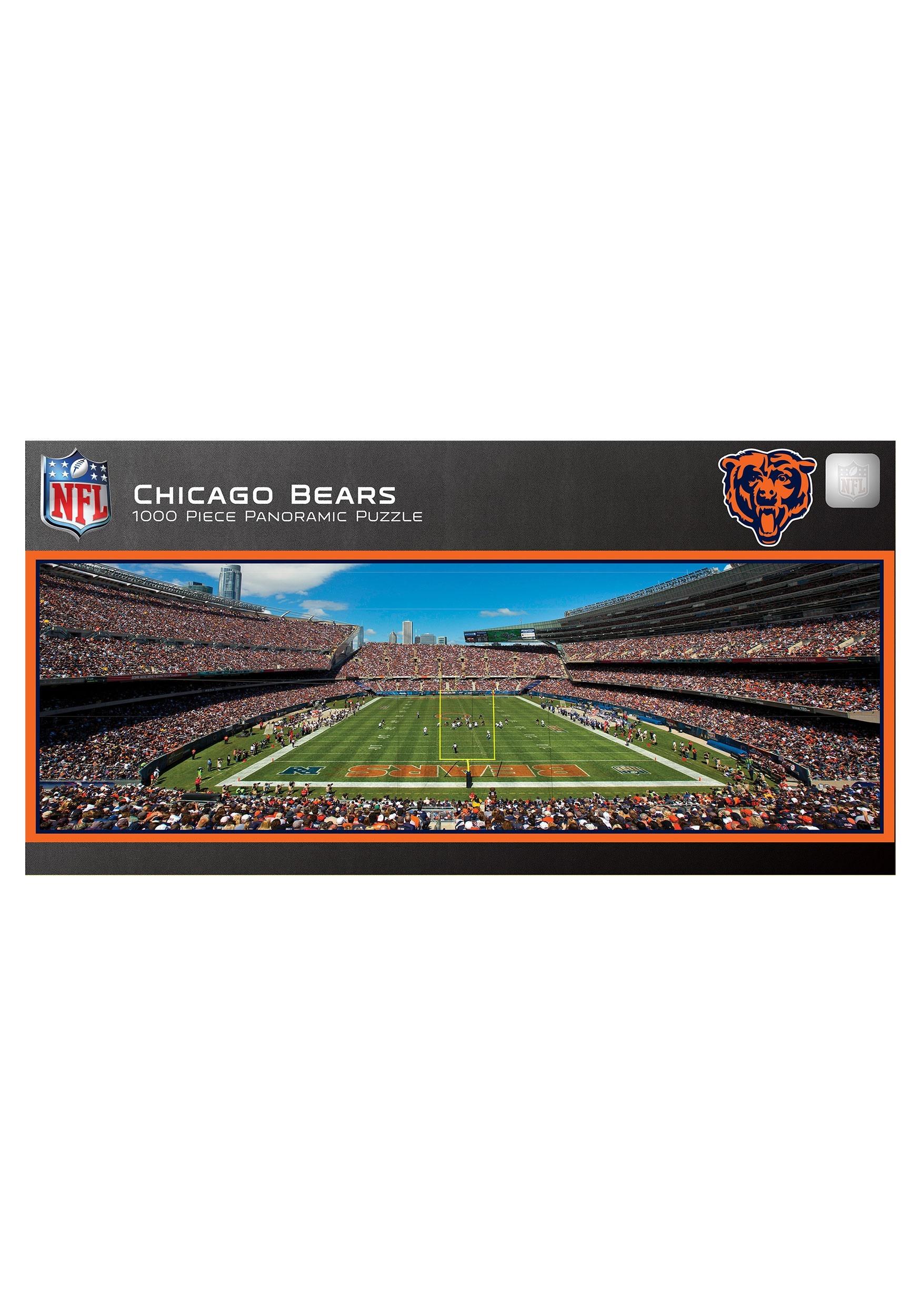 Chicago Bears NFL 1000 Piece Stadium Puzzle