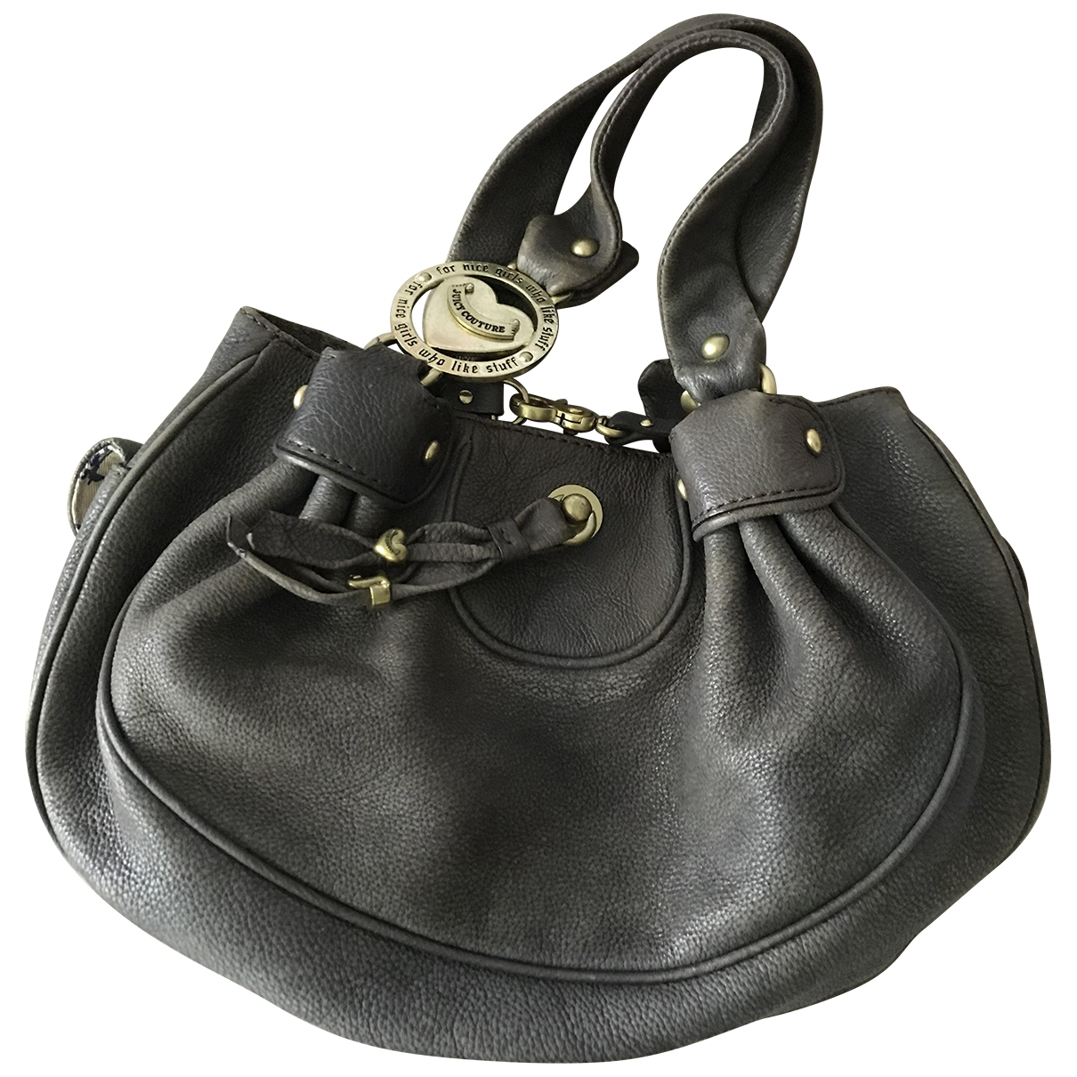 Juicy Couture \N Blue Leather handbag for Women \N