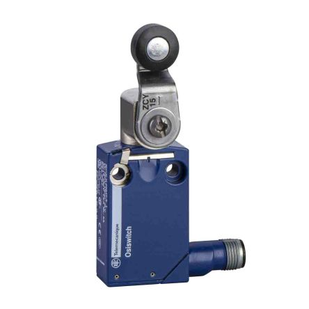 Telemecanique Sensors , Snap Action Limit Switch - Zamak, 1NC/1NO, Roller Lever, 50V, IP66, IP67, IP68
