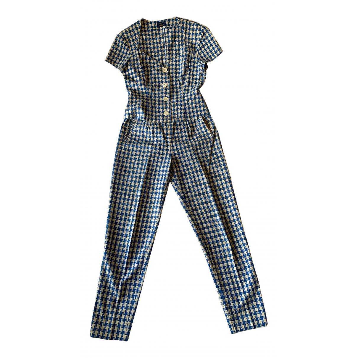 Byblos - Combinaison   pour femme en coton - bleu