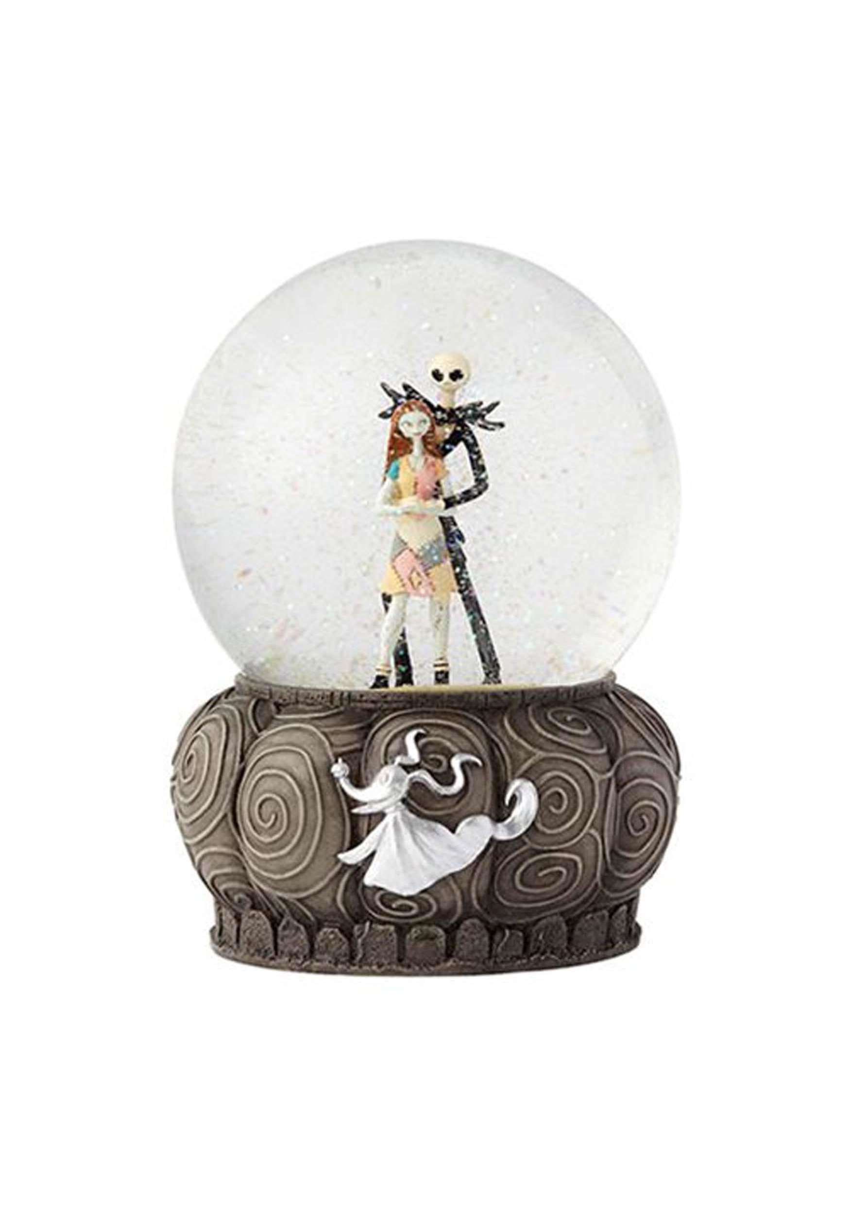 Disney Showcase Jack and Sally Waterball 6.5
