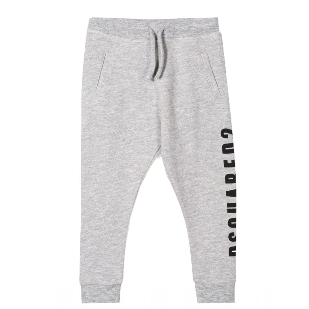 Dsquared2 Side Logo Joggers Colour: GREY, Size: 12 YEARS