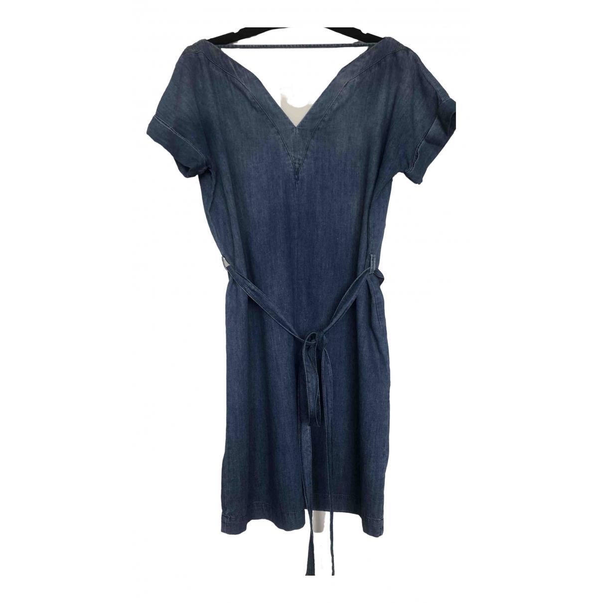 Diesel - Robe   pour femme en denim - bleu