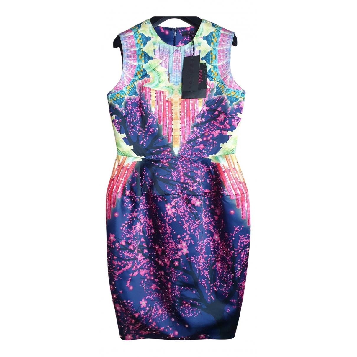 Manish Arora \N Kleid in  Bunt Polyester
