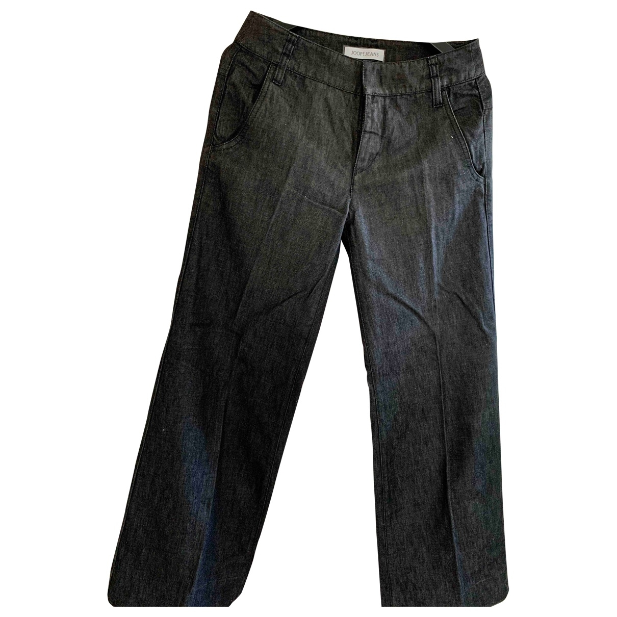 Non Signé / Unsigned \N Blue Denim - Jeans Jeans for Women 27 US