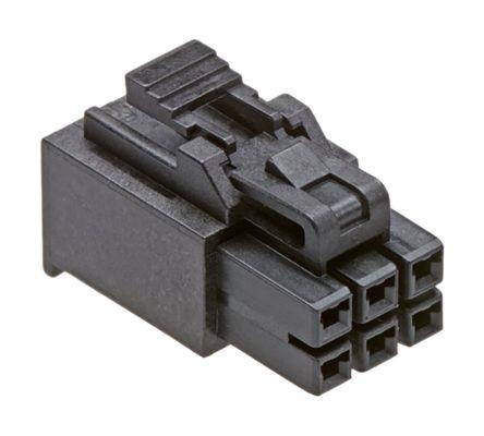 Molex , Nano-Fit Female Connector Housing, 2.5mm Pitch, 3 Way, 1 Row (1100)