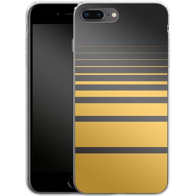 Apple iPhone 8 Plus Silikon Handyhuelle - Yellow Retro von SONY