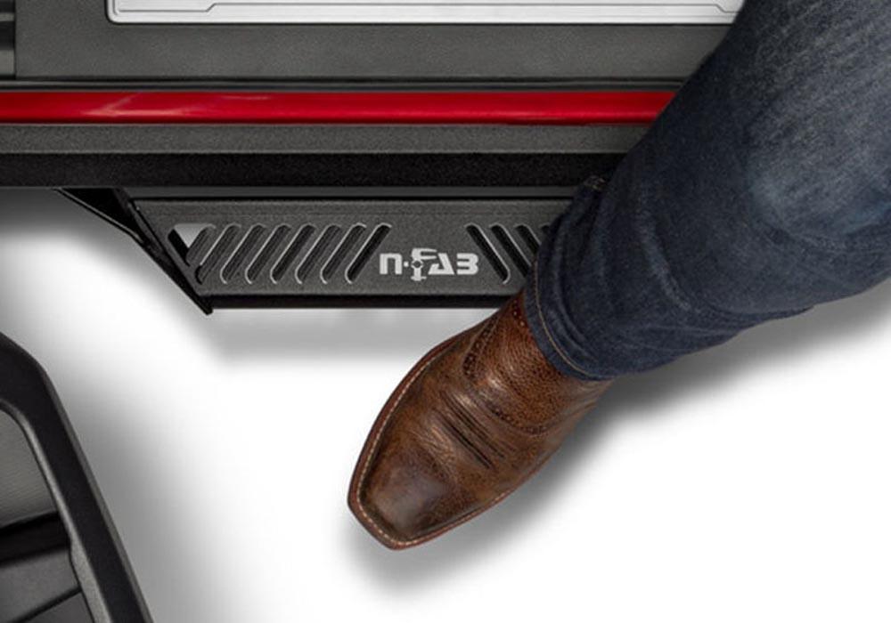 N-Fab PRF1777QC-TX Predator Pro Step System Ford Superduty SuperCab 17-18