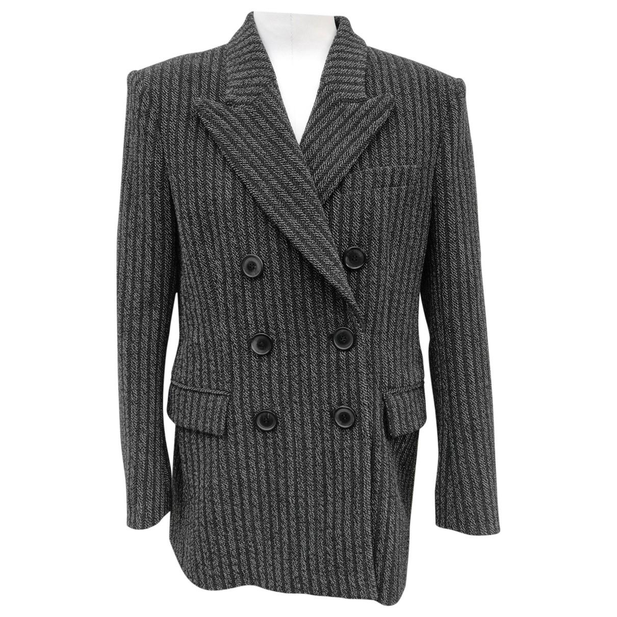 Isabel Marant - Veste   pour femme en laine - anthracite
