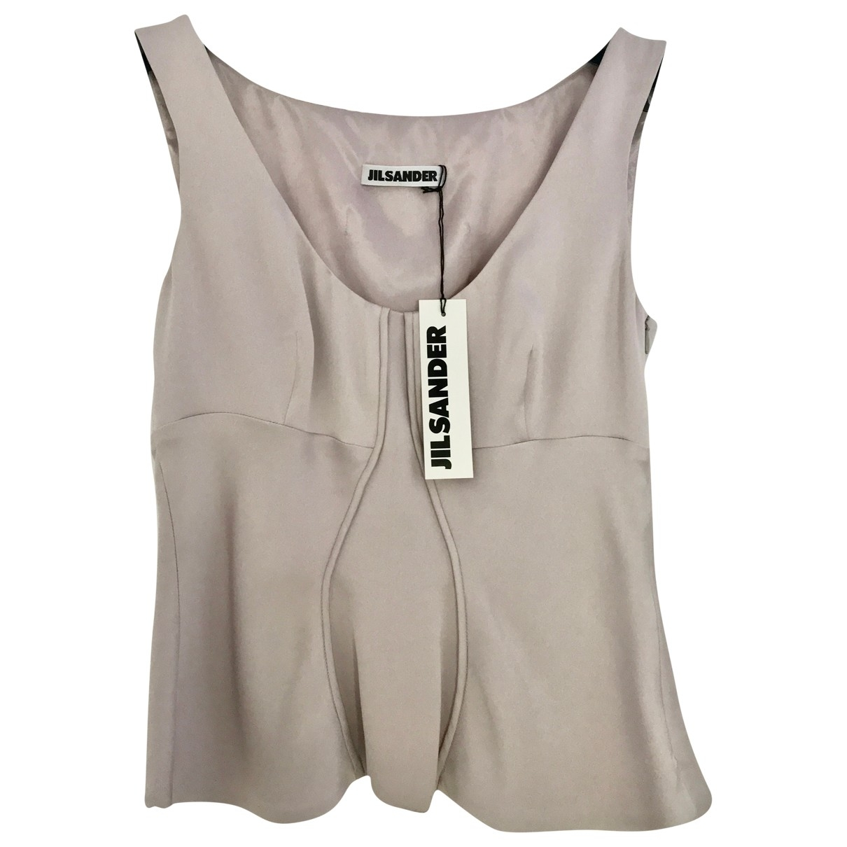 Jil Sander \N Purple Silk  top for Women S International