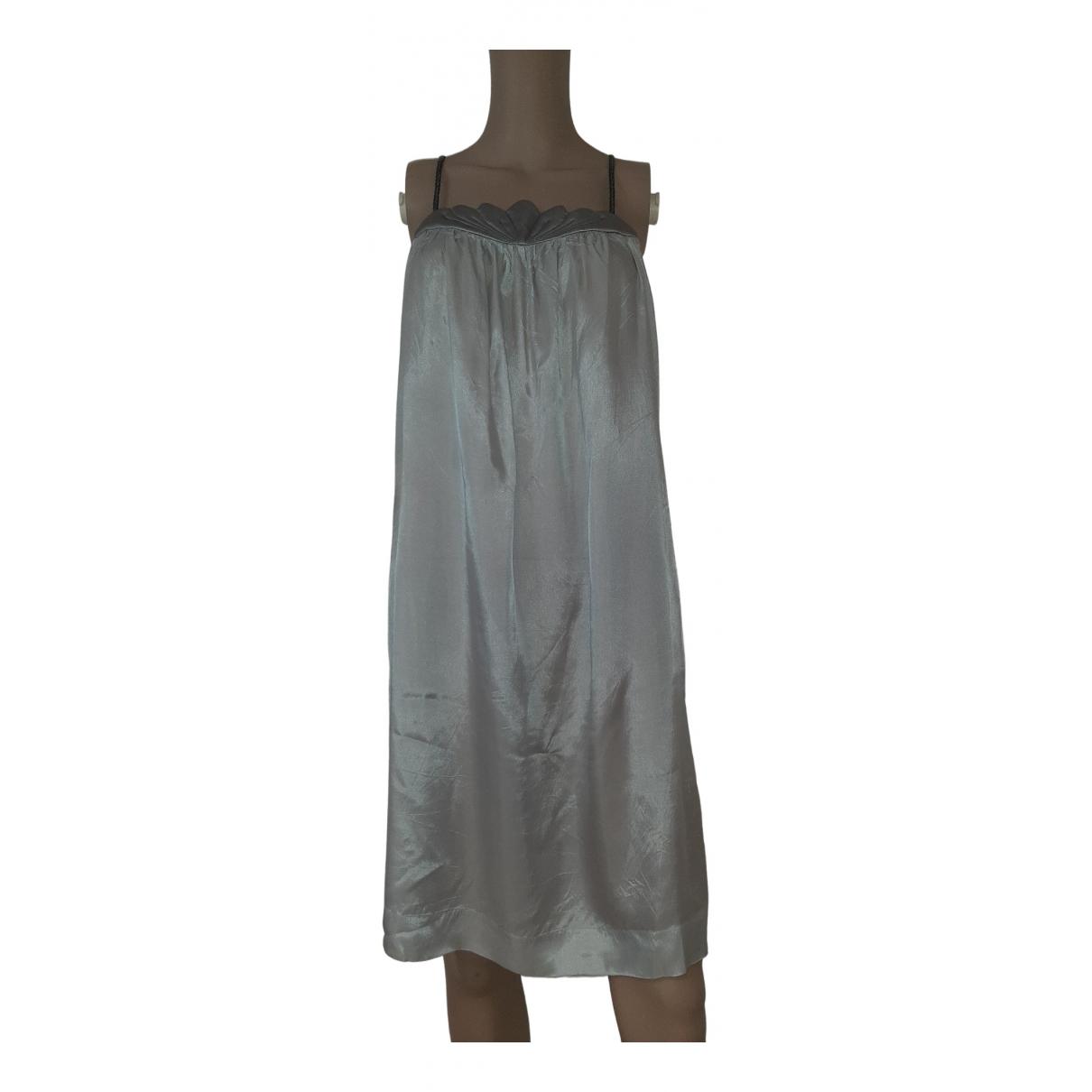 Isabel Marant \N Kleid in  Grau Seide