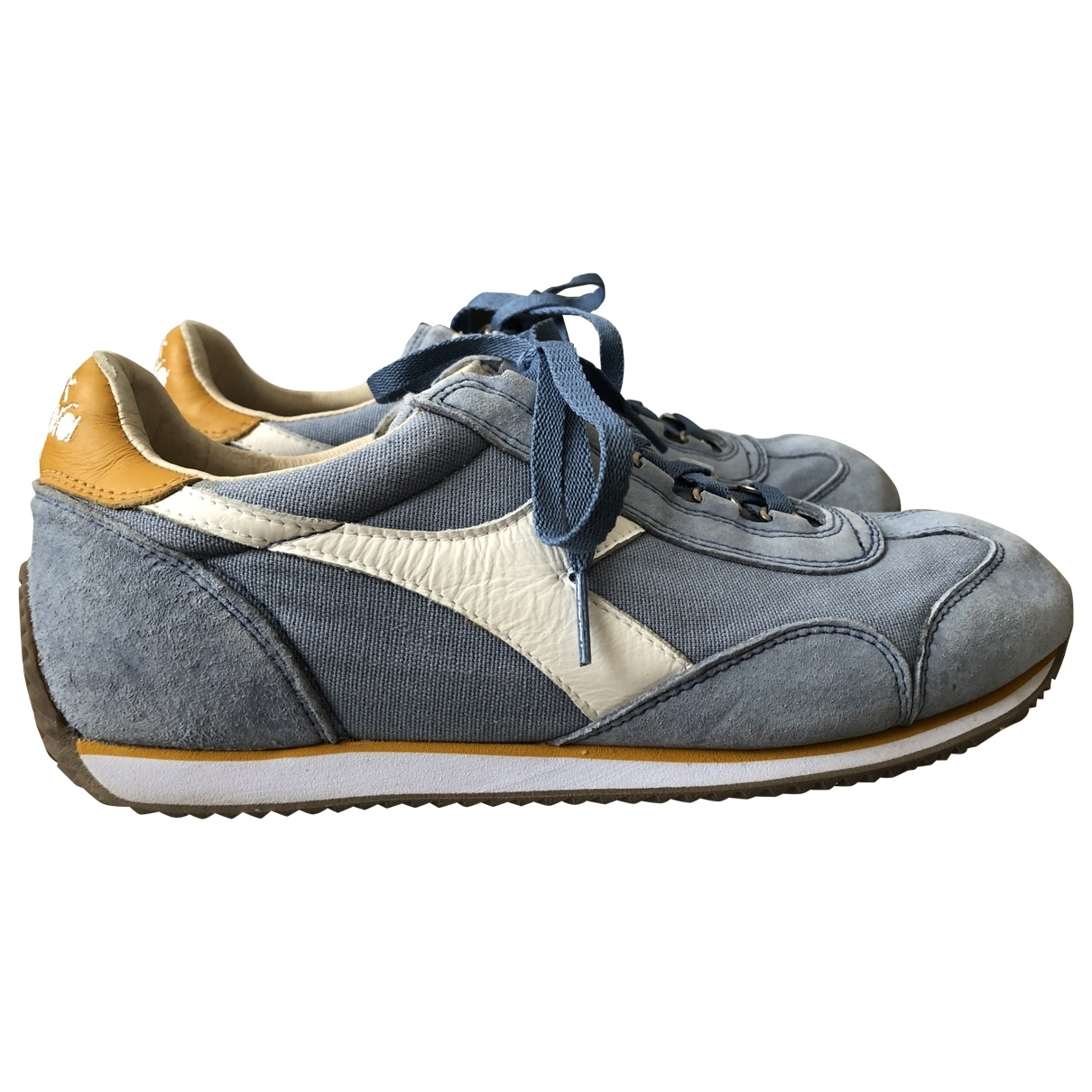 Diadora Heritage \N Navy Cloth Trainers for Women 40.5 EU