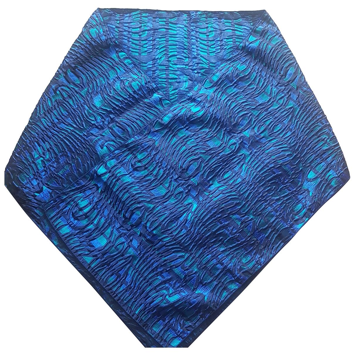 Maria Grazia Severi \N Schal in  Blau Viskose