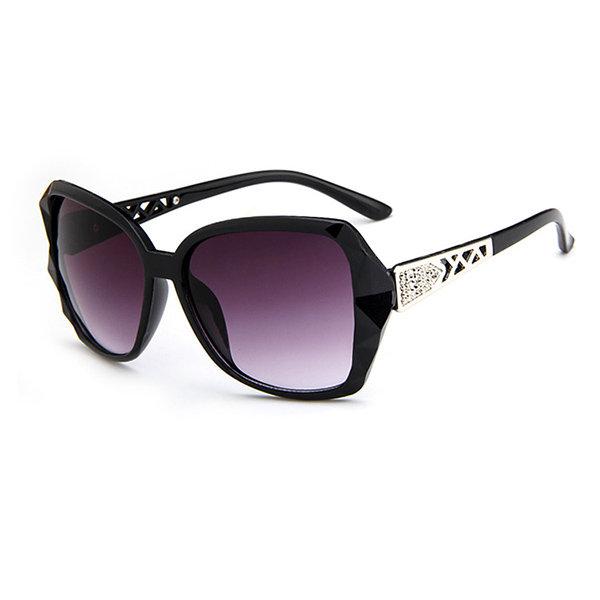 Summer Casual Large Frog Frame Sunglasses Outdoor Anti-UV Eyeglasses For Women