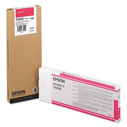 Epson T606B00 cartouche d'encre originale magenta