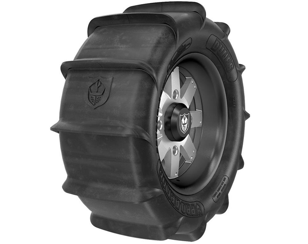 Polaris OEM 2882400 Wheel & Tire Set: Pro Armor Dunes & Amplify- Accent