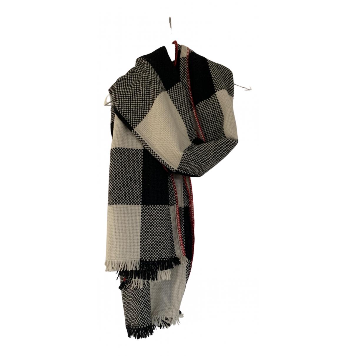 Massimo Dutti - Foulard   pour femme en laine - multicolore