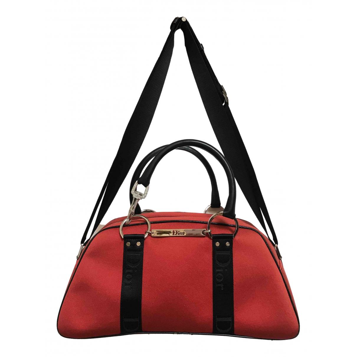 Dior Hardcore Red Cloth handbag for Women \N