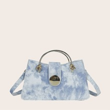 Bolso cartera denim