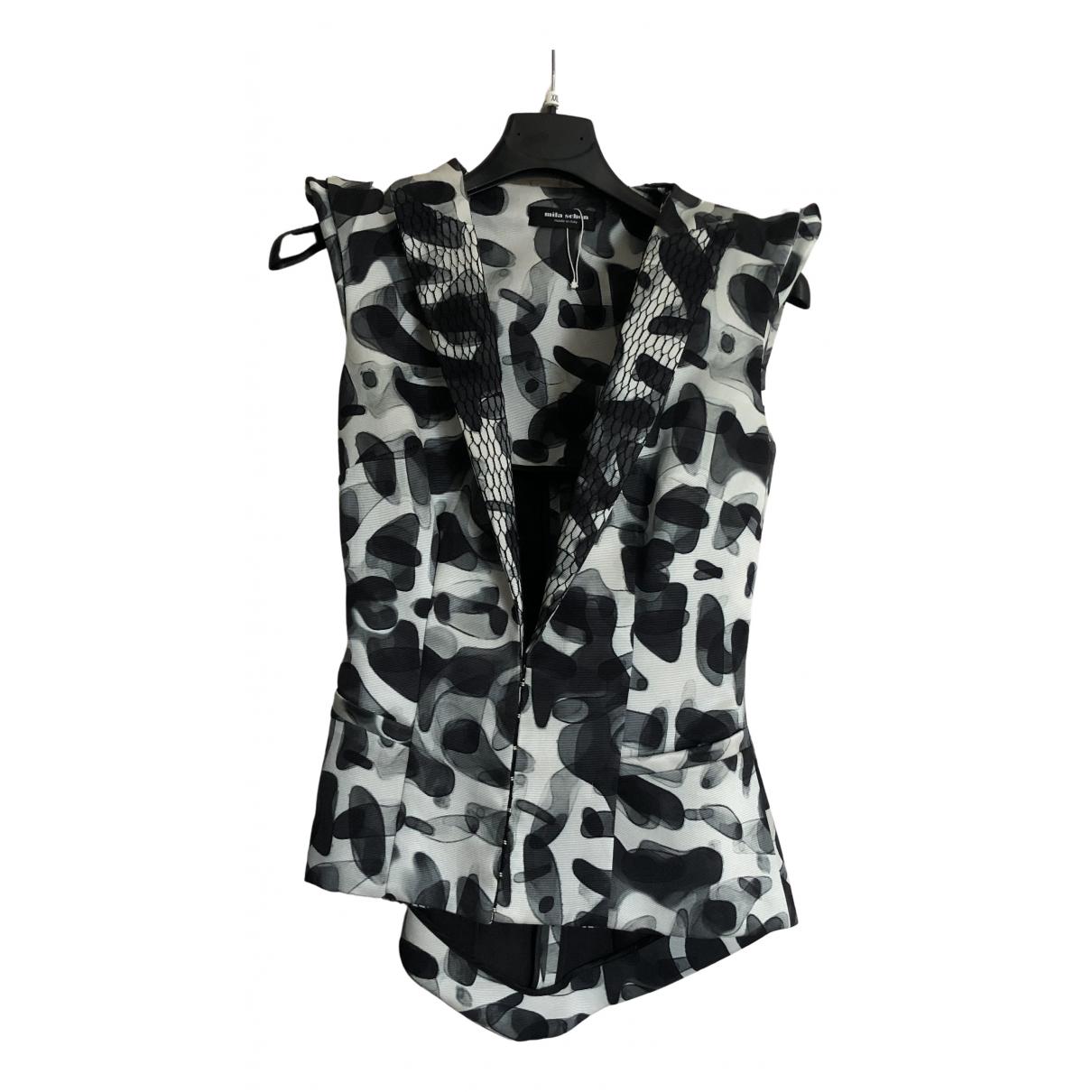 Mila Schon Concept - Pull   pour femme en soie - multicolore