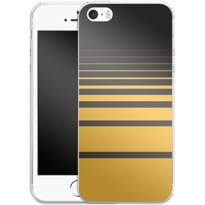 Apple iPhone SE Silikon Handyhuelle - Yellow Retro von SONY