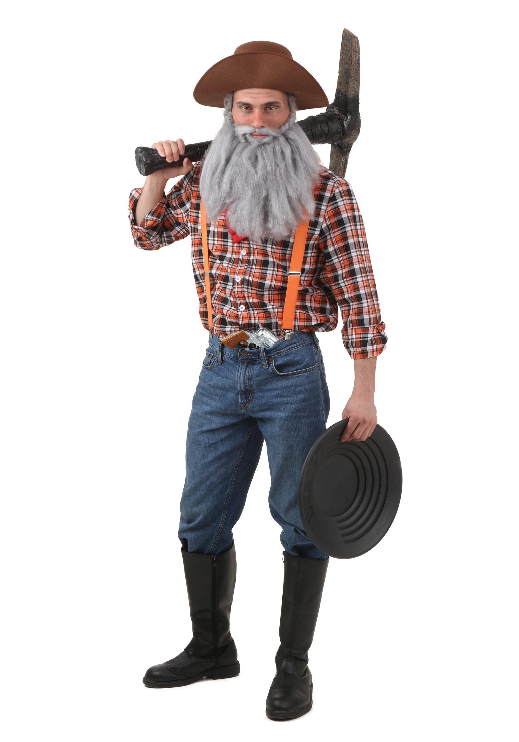 Mens Prospector Costume