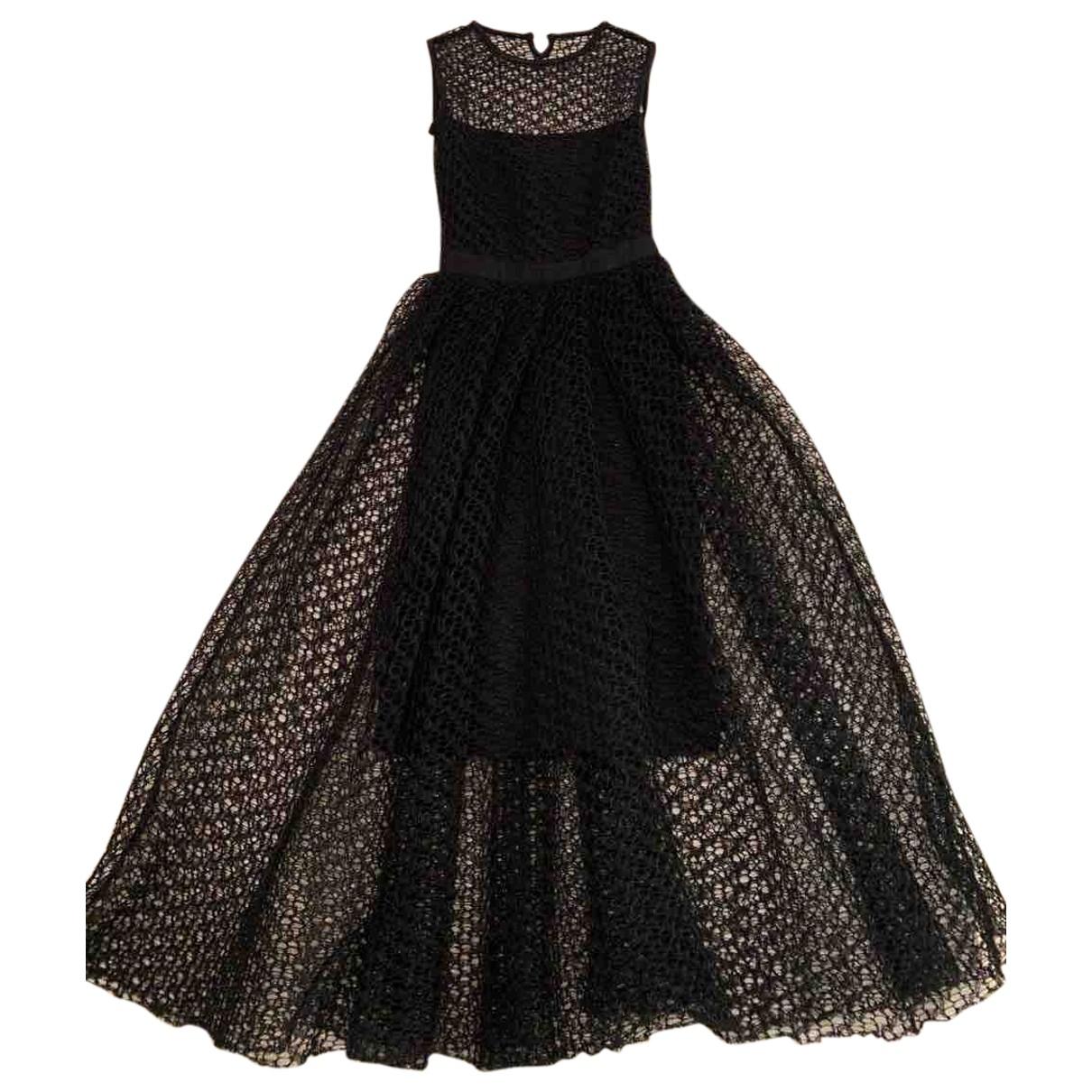 Dior \N Black Cotton dress for Women 38 FR